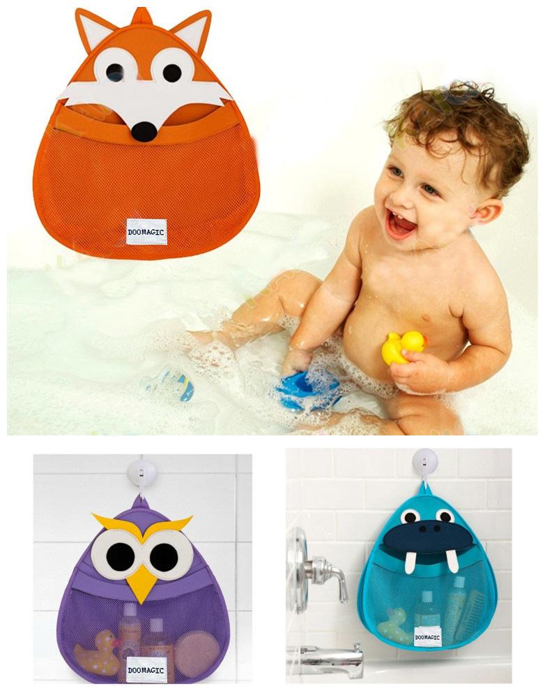 Карман для игрушек в ванную своими руками
