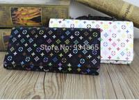 Doka Purses girls triple flip wallet Ms. Long Wallet Carhartt Wallet zipper Women purse brand Multifunction women wallet Billete