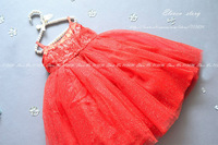Girls summer sequined princess ball gowns dresses baby & children wedding/party/dance/Christmas clothing  ES12DS-75FC