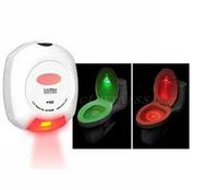 Free Shipping LED Sensor Motion Activated Toilet Light Bathroom Flush Toilet Lamp Battery-Operated Night Light 4003-024