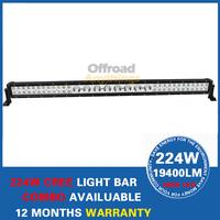 45'' 224w CREE LED Light Bar IP67 For SUV Tractor ATV 12v 24v Offroad COMBO LED WorkLight External Light+Free Wiring