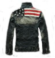 man spring 2014 denim jacket coat men sportswear outdoors casual jackets men clothing denim jacket jeans jacket men gym cotton