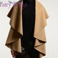 Women's Fashion Wool Coat Ladies Noble Elegant Sleeveless Vest Coat Cape Shawl Ladies Poncho Wrap Scarves Coat Overcoat PH2513