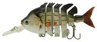 "2014 New 3"" Crazy Panfish Multi Jointed Fishing Lips Life-like Hard Lures Swimbaits S-WPAN-F Free Shipping"