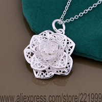 Free Shipping 925 sterling silver Necklace, 925 silver fashion jewelry  /bbrajsya cobalfia P347