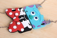 Monsters University  minnie mickey Mike Sulley Daisy Soft Silicon handbag Case Cover For iphone  5 5s Free shipping