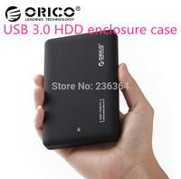 Top quality Orico 2599US3 USB 3.0 SATA 2.5 inch HD HDD Hard Disk Drive Enclosure External Case Box Free shipping &wholesale