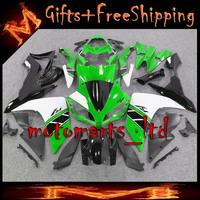 * green black white YZFR1 2007 2008 Fairing For yamaha YZF-R1 2007 2008 ABS Plastic Bodywork Set 004 F