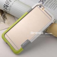 Hybrid Soft Plastic + TPU Bumper Case for iphone 6 4.7 inch Fashion Korea Style free Screen Protector