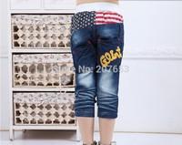2014 new free shipping wholesale 5pcs/lot  kids jeans shorts boy denim jeans shorts  boy causal carpi 1-6years