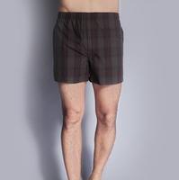 5 Pcs/Lot Sexy Men Boxer Shorts Men'S Boxers Plus Size 100% Cotton Mens Underwear Male Comfortable Loose Plaid CuecaS Underpants