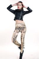 HOT 2014 New Fashion Ancient Egyptians Pharaoh Printed Women Legging Novelty Sexy Girl's Leg Pants sexy Jeggings 13183.E