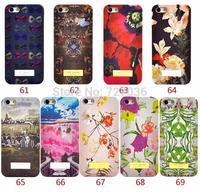 "Wholesale 10pcs For Iphone 5 5S Iphone6 4.7"" Rose Flower Golden Ted Bakers Animal Bird Dog Brand Designer Hard Back Case Cover"
