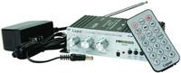 LP-A68 Digital 2 x 15W Amplifier with Remote/USB/MP3/SD/FM