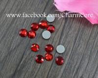 Free Shipping 10 Gross (1,440 Stones) Low Lead(Lead Free) Siam(Red) SS20 (5mm) Korean Hot Fix Rhinestones
