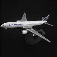 14cm Alloy Metal Air France Airlines Boeing 777 B777 Airways Plane Model Aircraft Airplane Model w Stand Toy Gift