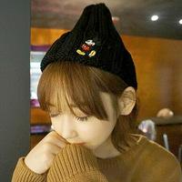 2014 Korean college all-match wind fashion leisure cute cartoon knitted hat cap