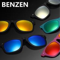 2140 Clip Sun Glasses Myopia Polarized Sunglasses Male Women Classic Sunglasses Clip Driving Glasses With Case 6002A