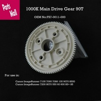 1000K Main drive  gear 90T  FS7-0011-000  For Use in Canon ImageRunner 7105 7095 7085 105 9070 8500 85+ 8070 7200 550 600 60