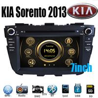 For KIA Sorento 2013 NEW Car DVD Player GPS Navigation Head Unit 3G IPOD Bluetooth TV RDS Canbus Steerwheel control
