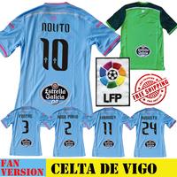 Celta Vigo Jersey 14 15 Home Celta Soccer Jersey 2015 Away Football Jersey Celta Camiseta Futbol AUGUSTO NOLITO LARRIVEY Shirt