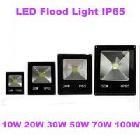 1X Quality Led Flood Light 10W 20W 30W 50W 70W 100W IP65 AC85-265 Warm Cool White Led Floodlight Outdoor Lightings