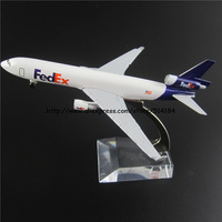 12.5cm Alloy Metal Air AIR Fedex McDo ell Dougla MD-11 Airlines Airways Plane Model Aircraft Airplane Model w Stand Toy Gift