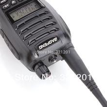 Black BaoFeng UV B6 Dual Band Two Way Radio 136 174MHz 400 470 MHz walkie