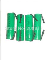 free   hongkong  post  shipping 12pcs/lot Brand NEW   NiMh AA 3000 mAh flat top battery with solder tabs