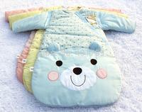 Free shipping carton printing baby sleeping bag 80cm length for baby 0-18 Month