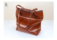 Classical female bolsas genuine leather bags women leather handbags big shopping designer messenger tote bag ladies purse