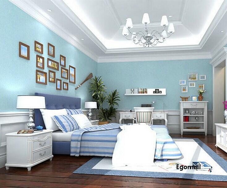 Slaapkamer Blauwe Muur : blauwe slaapkamer muur : Groen blauwe ...