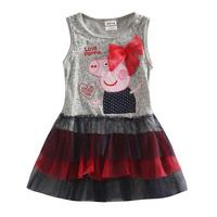 peppa pig dress girl dress vestido infantil feminina baby girl princess dress girl party dress peppa pig clothing kids clothes