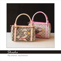 Famous brand designers womens leather handbags children girls messenger bags kids cell phone purses woman bolsas shoulder bags