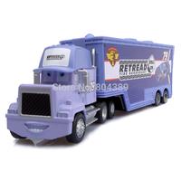 Best Gift!  Mack No.79 Retread Race Team''s Hauler Truck 1:55  Diecast Pixar Cars Toy  Free Shipping