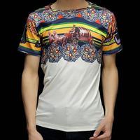 Carriage Go Sightseeing Mold 3D Printed T-Shirt Women Men Tee Shirt Streetwear