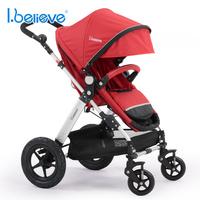 Ibelieve bella baby stroller two-way folding child cart shock absorbers baby car
