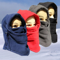 Winter hat outdoor windproof hat cycling cap male and female cap millinery thickening thermal wigs face mask cap cs cap