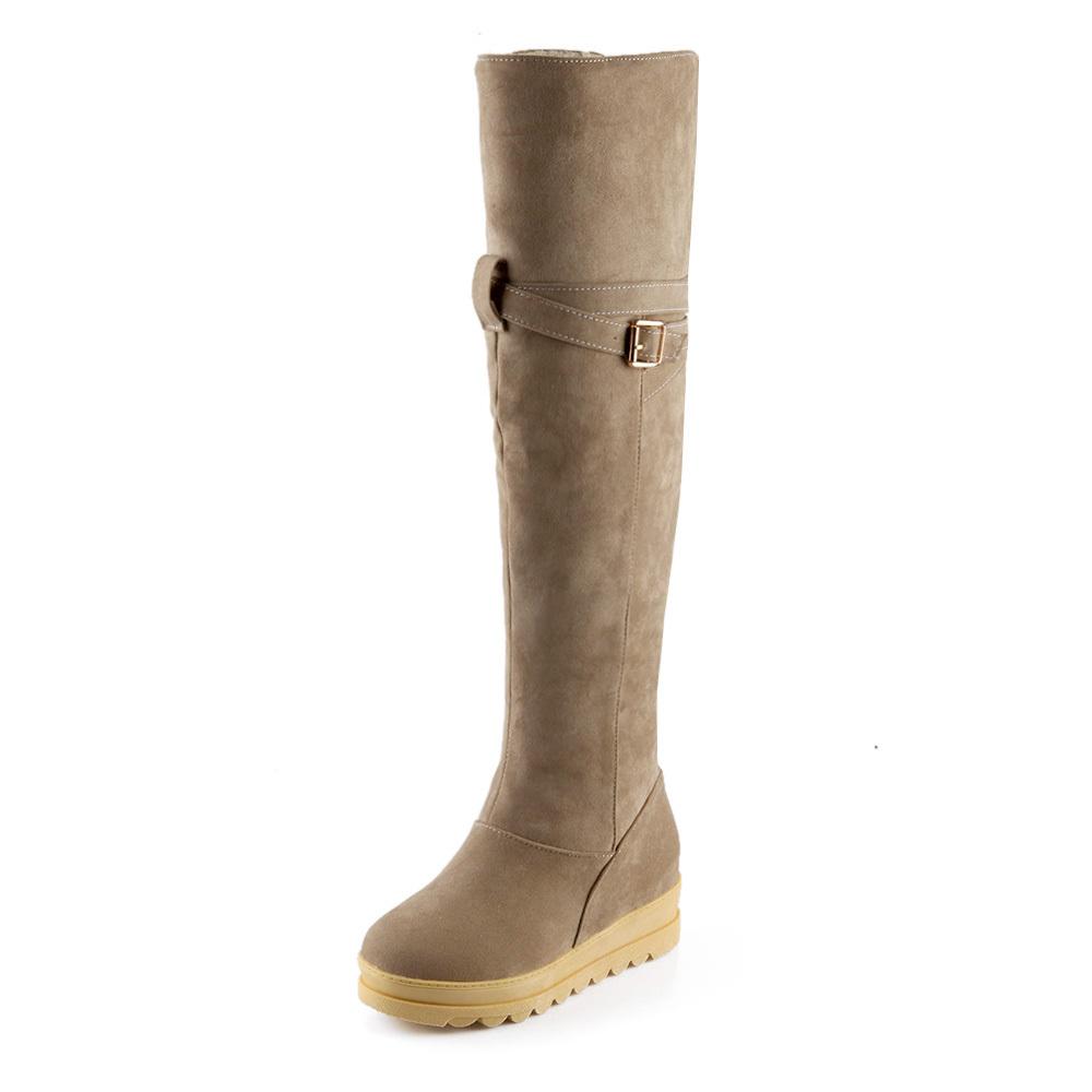 get cheap brown suede thigh high boots aliexpress