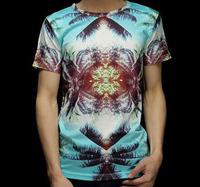 Coconut Tree Sunlight 3D Printed T-Shirt Women Men Tee Shirt Streetwear Fashion