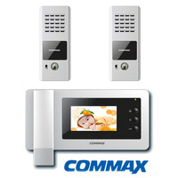 Commax 2pcs DRC-4CPN Doorphone Camera panel+CDV-43N 4.3 inch Door Monitor Video Intercom Color Video DoorPhone