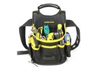 Black Bucket Bag Tool Pouch Waist Bag Professional Electricians Organizer