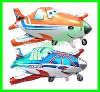 free shipping 10pcs/lot  foil balloon airplane balloon Chirldren's toys