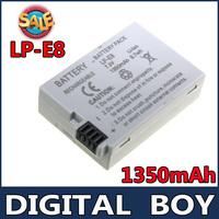 Digital Boy Digital Camera Rechargeable Li-ion Battery LP-E8 LP E8 LPE8 for CANON 550D 600D Fast Delivery