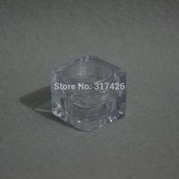 Free Shipping- 5ml plastic jar,cream jar,comestic jar,AS jar