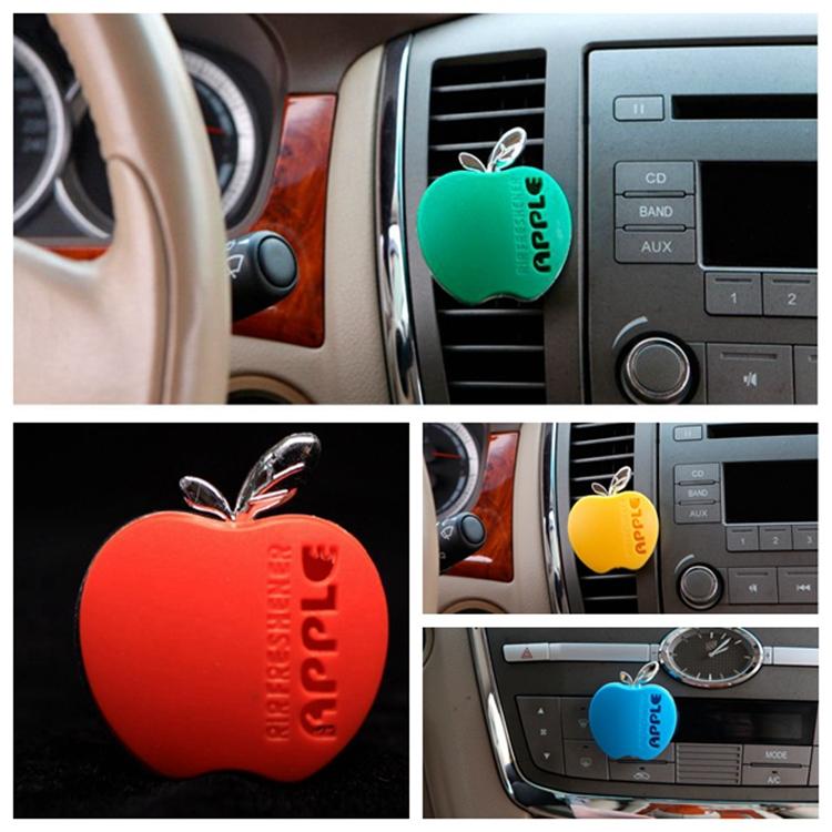 Brand Car air freshener apple shape Magic cologne Fragrance parking car accessories eau de parfum masculino Perfume 100 original(China (Mainland))