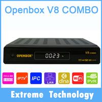 openbox v8 combo DVB-S2+DVB-T2 HD satellite tv receiver better than openbox X5/V5s/Z5 /V8S support DLNA WEB TV Cccamd YouTube