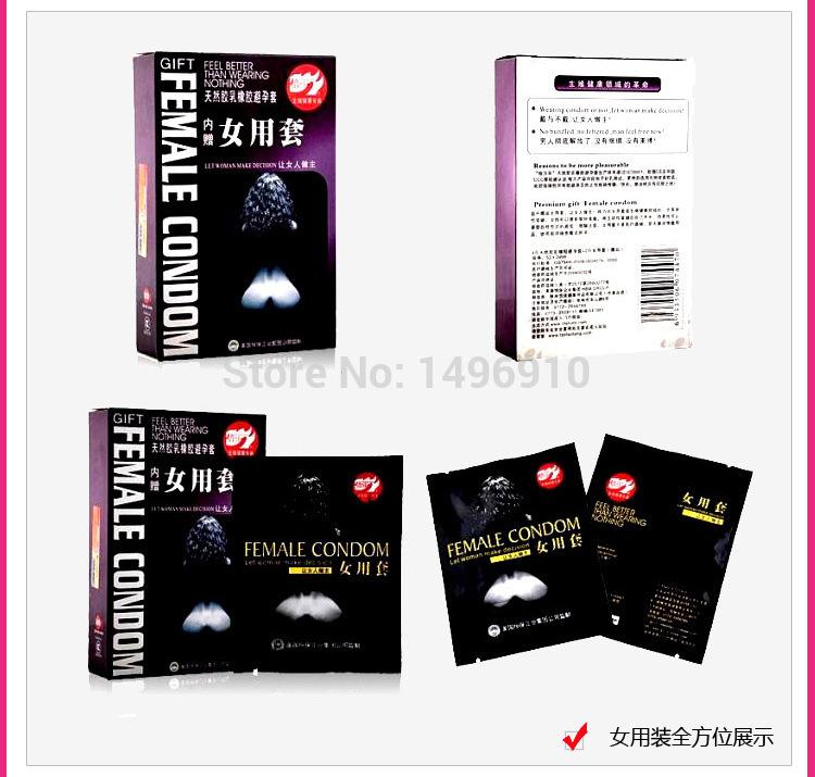female sex condoms lubricants condones thin safe condoms conjuntos femininos adulto adult tyranid female condom condome(China (Mainland))