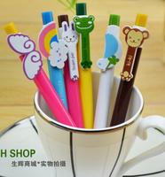 Creative stationery wholesale 36pcs blue ink cute rainbow wing monkey ballpoint ball pen school children kids prize gift toy