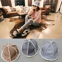 A36-8 winter fashion Han Banchao Plush basin hat cap Lei Feng warm cap wholesale